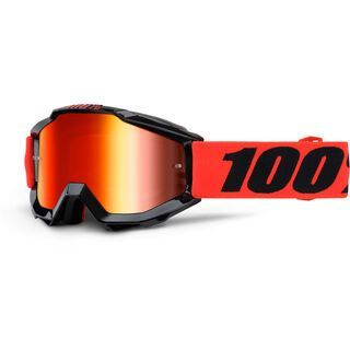 100% Accuri Youth, inferno/Lens: mirror red, clear - MX Brille