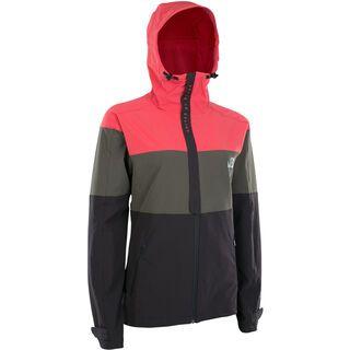 ION Softshell Jacket Shelter Wms, pink isback - Radjacke