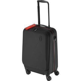 Scott Bag Travel Hardcase 40, black/red clay - Trolley