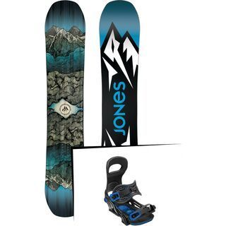 Set: Jones Mountain Twin Wide 2019 + Bent Metal Transfer black