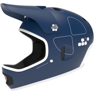POC Cortex Flow, Lead Blue - Fahrradhelm