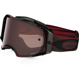 Oakley Airbrake MX Prizm, nemesis red/Lens: black - MX Brille