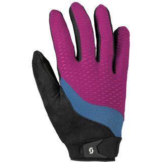 Scott Womens Essential LF Glove, purple/blue - Fahrradhandschuhe