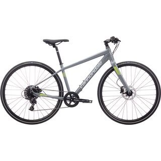Cannondale Quick 2 Disc Women's 2018, stealth gray/volt - Fitnessbike