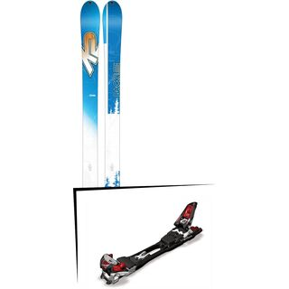 Set: K2 SKI Backlite 74 2017 + Marker F12 Tour (499350S)