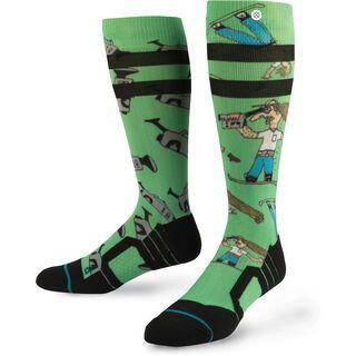 Stance Dad Cam, green - Socken
