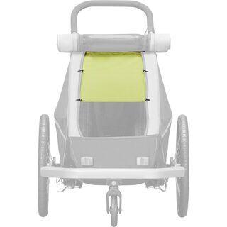 Croozer Sonnenschutz für Kid Plus / Kid for 1, lemon green - Zubehör