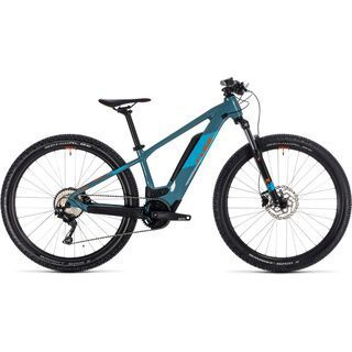 Cube Reaction Hybrid Youth 2020, blue´n´orange - E-Bike