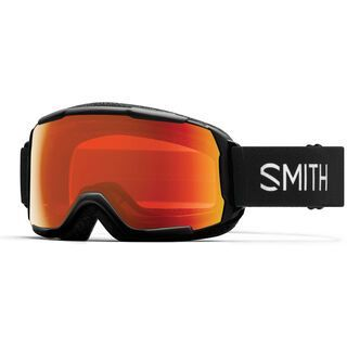 Smith Grom, black/Lens: everyday red mirror - Skibrille