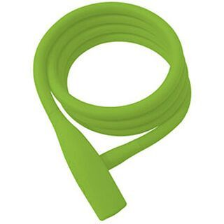 Knog Party Coil, lime green - Fahrradschloss