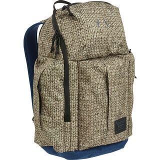 Burton Cadet Pack, knit print - Rucksack