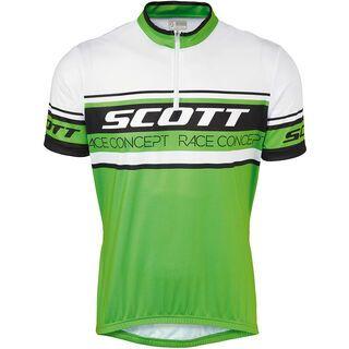 Scott Classic 20 s/sl Shirt, green/black - Radtrikot
