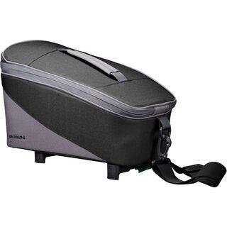 Racktime Talis, carbon black/stone grey - Gepäckträgertasche