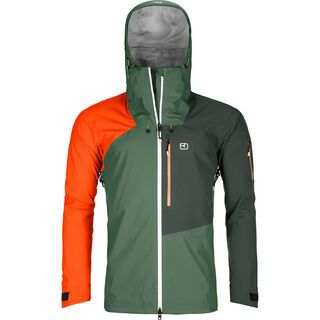 Ortovox 3L Merino Naked Sheep Ortler Jacket M, green forest - Skijacke