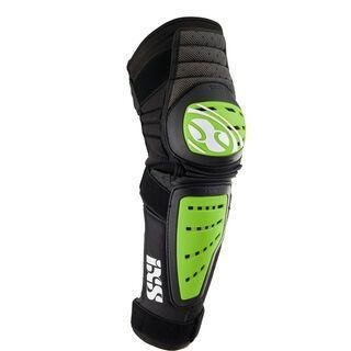 IXS Cleaver Knee Guard, green - Knie/Schienbeinschützer