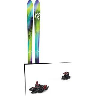 Set: K2 SKI FulLUVit 95 2017 + Marker Alpinist 12 (2319300)