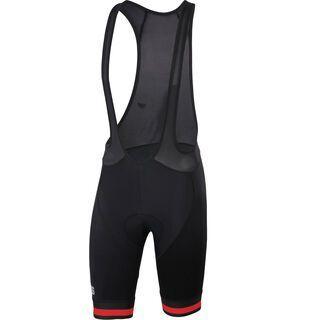 Sportful BodyFit Team Classic Bibshort, black/red - Radhose