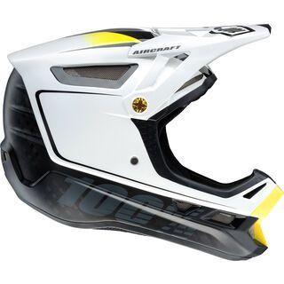 100% Aircraft DH Helmet, Bi-Turbo white - Fahrradhelm