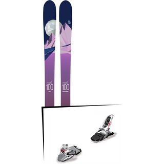 Set: Icelantic Oracle 100 2018 + Marker Squire 11