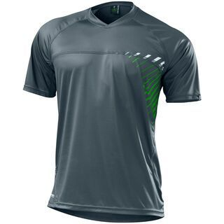 Specialized Enduro Comp Jersey, carbon/green - Radtrikot