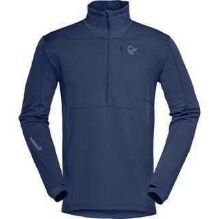 Norrona falketind warm1 Stretch Sweater, indigo night - Fleecepullover