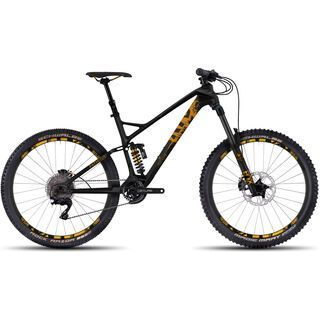 Ghost Pathriot 8 UC 2017, black/yellow - Mountainbike