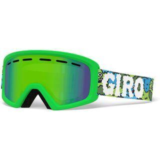 Giro Rev, lilnugs/Lens: loden green - Skibrille