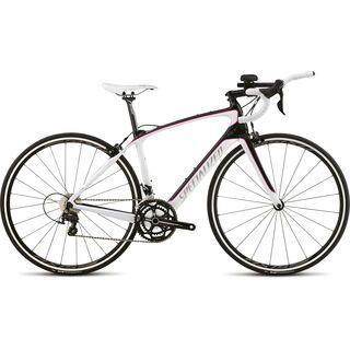 Specialized Alias Sport Tri 2015, Gloss Carbon/White/Pink - Rennrad