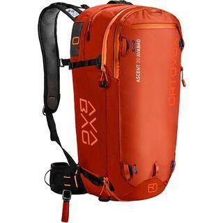 Ortovox Ascent 30 Avabag Kit, ohne Kartusche, desert orange - Lawinenrucksack