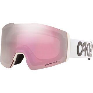Oakley Fall Line XM Prizm Factory Pilot, white/Lens: hi pink iridium - Skibrille
