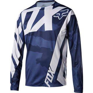 Fox Demo LS Camo Jersey, blue camo - Radtrikot