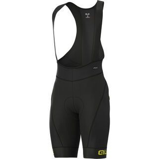 Ale Agonista Plus Bibshorts, black-fluo yellow - Radhose