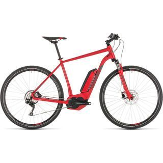 Cube Cross Hybrid Pro 500 2019, red´n´grey - E-Bike