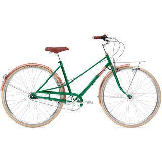 Creme Cycles Caferacer Lady Doppio 2020, sparkling emerald - Cityrad