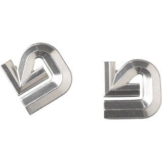 Burton Aluminum Logo Mat, silver - Stomp Pad