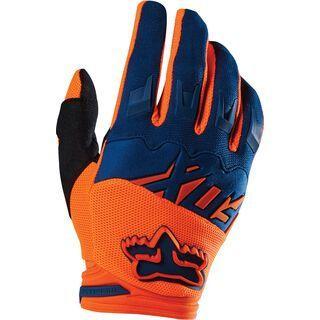 Fox Dirtpaw Race Glove, orange blue - Fahrradhandschuhe