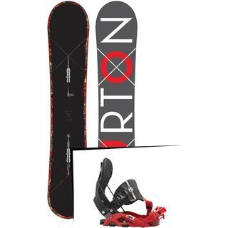 Set: Burton Custom X 2015 + Flow Nexus Hybrid (1513169S)