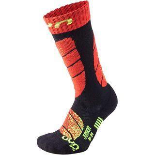 UYN Ski Socks Junior black/red