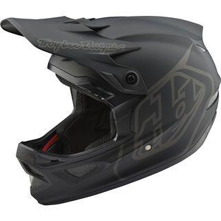 TroyLee Designs D3 Fiberlite Mono Helmet, black - Fahrradhelm