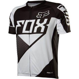 Fox Livewire Race Jersey, black/white - Radtrikot
