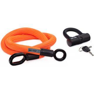 Tex-Lock Tex-Lock M 120 cm, neon orange - Fahrradschloss
