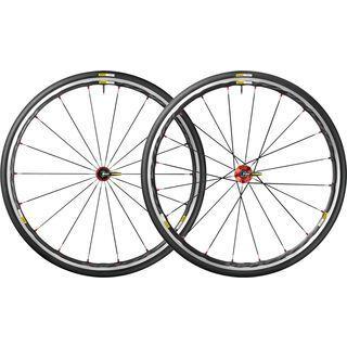 Mavic Ksyrium Elite, black-red - Laufradsatz