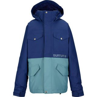 Burton Boy's Fray Jacket , Deep Sea/Goblin - Snowboardjacke