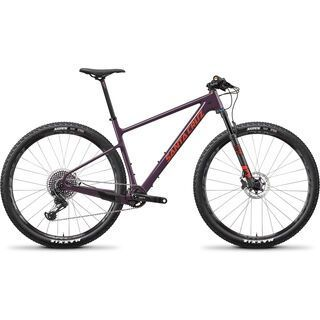 Santa Cruz Highball CC X01 2019, eggplant/sunset - Mountainbike