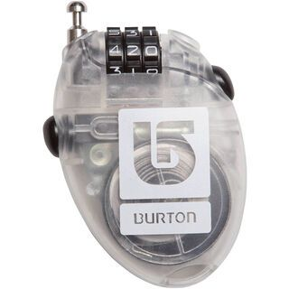 Burton Cable Lock, clear - Kabelschloss