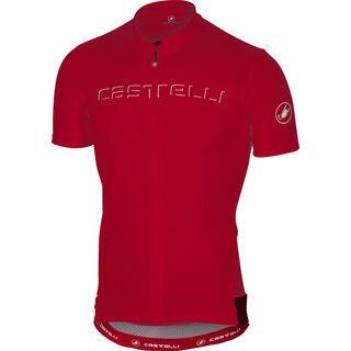 Castelli Prologo V Jersey, red - Radtrikot