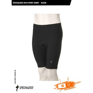 Specialized Sport Short, Black - Radhose