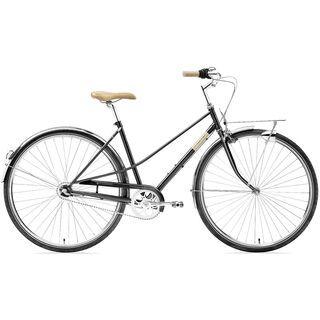 Creme Cycles Caferacer Lady Uno 2019, black sparkle - Cityrad