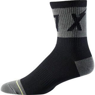 Fox 6 Trail Wurd Sock, black - Radsocken