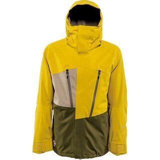 Nitro Rainier Jacket, Mustard/Dark Oliv - Snowboardjacke
